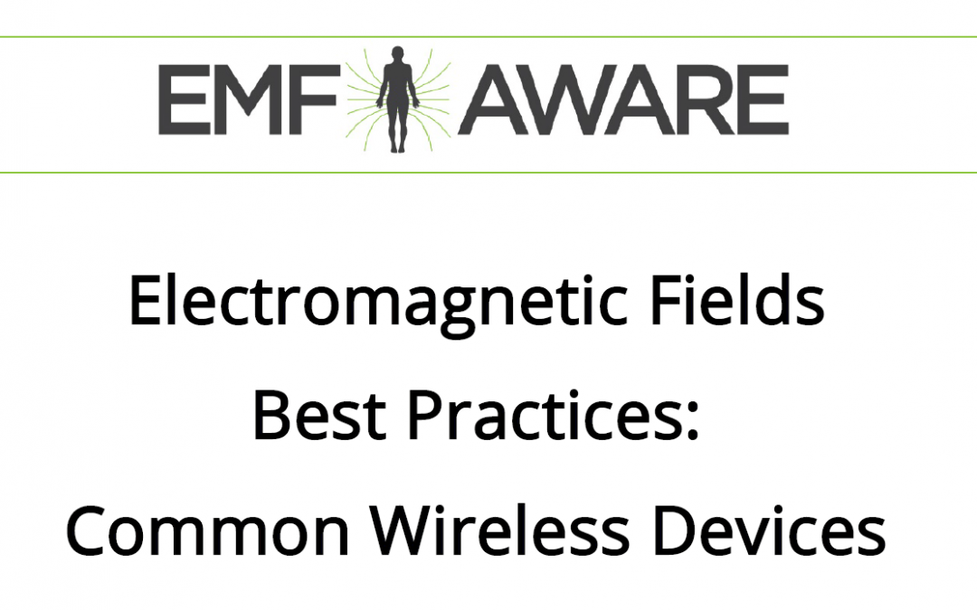 Wireless Best Practices – EMF Aware