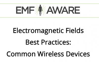 Wireless Best Practices – EMF Aware