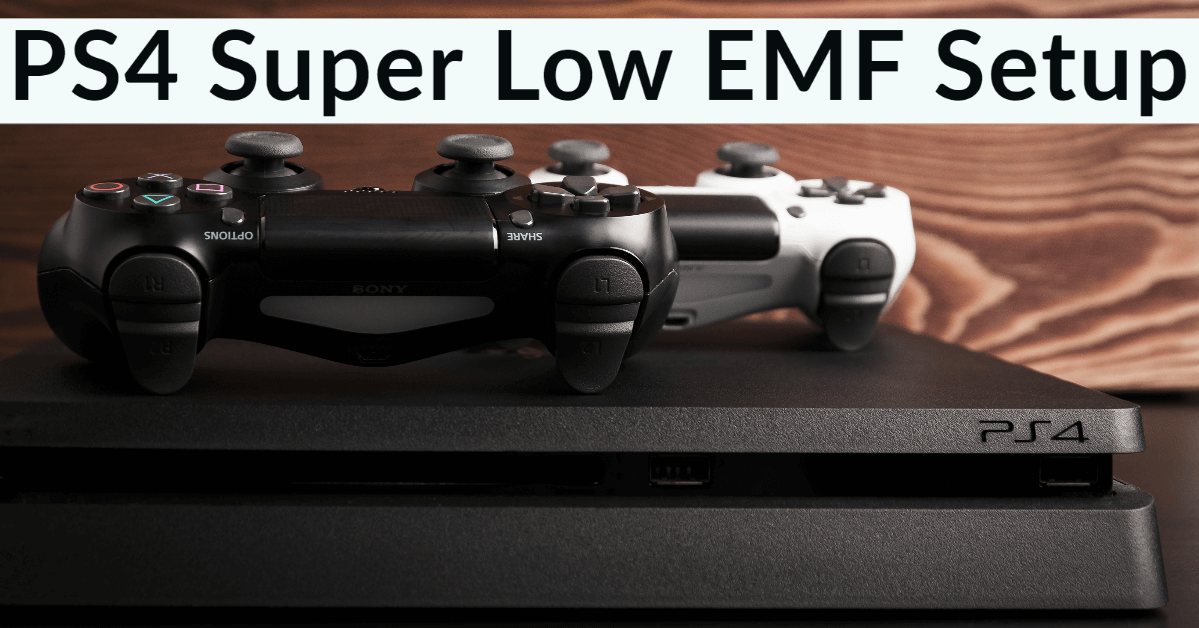 PS4 How To Disable Wifi & Create Super Low EMF Setup
