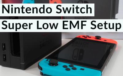 Hardwired Nintendo Switch – Super Low EMF Setup
